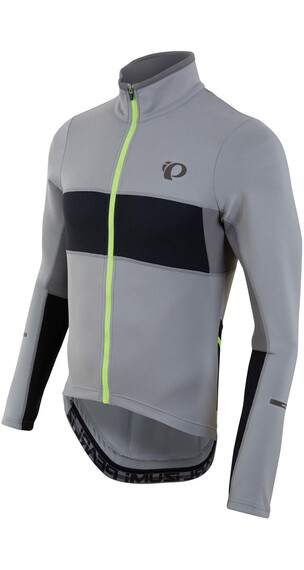 PEARL iZUMi ELITE Escape Thermal LS Jersey Men Monument/Black
